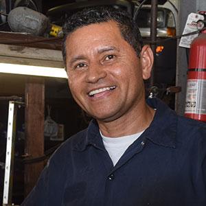Mario Monroy of Golden Ring Car & Truck Repair
